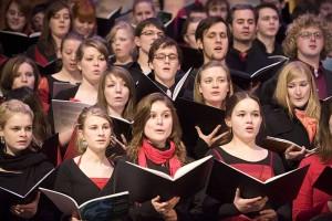 Chor der Hochschule für Musik Franz Liszt Weimar, Foto: Maik Schuck