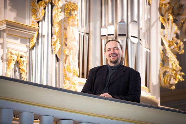 Organist Jörg Reddin