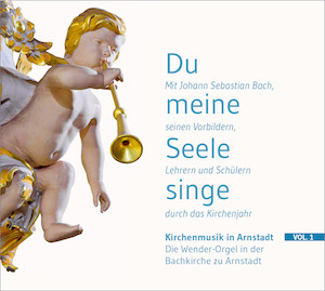 CD-Cover Kirchenmusik in Arnstadt Vol. 1