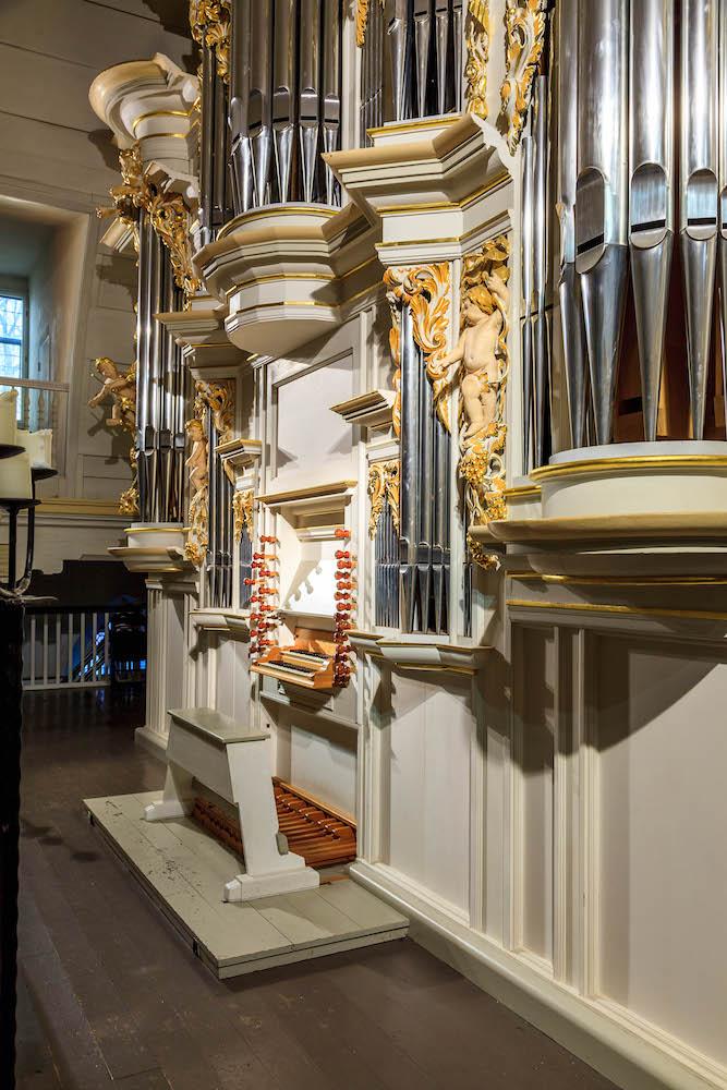 Bachkirche, Orgel